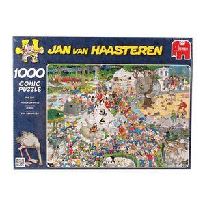 CASSE-TÊTE Jumbo Puzzle Jan Van Haasteren The Zoo 1000 Piece