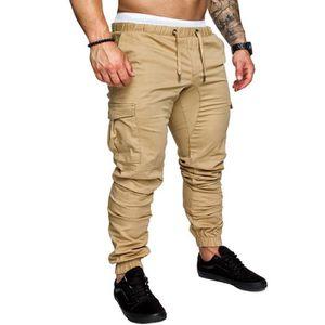 bleu marine ou Camos New Cargo Pantalon Combat Homme Pantalons de travail Pantalons Taille 28 To 56 noir