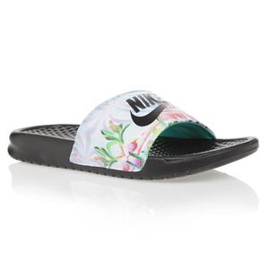 pretty nice aa747 5cc6c SANDALE - NU-PIEDS NIKE, Women s nike benassi just do it. sandal,