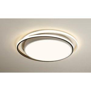 PLAFONNIER Moderne Plafonnier LED Ronde et Anneau Abat-jour B