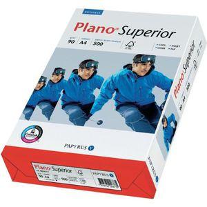 PAPIER IMPRIMANTE Ramette de papier Plano Superior PAPYRUS A4, 90…
