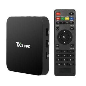 BOX MULTIMEDIA TX3 PRO Intelligent Android TV Box Android 6.0 Aml