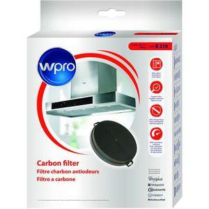 FILTRE POUR HOTTE Wpro CHF210/1  Filtre de hotte à charbon B210 diam