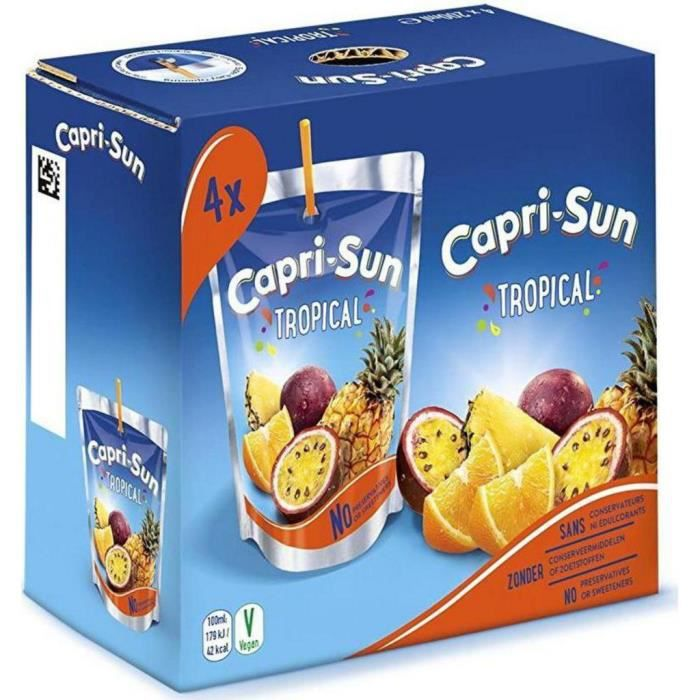 Capri-Sun Boisson aux fruits multi vitamines 4 x 20 cl