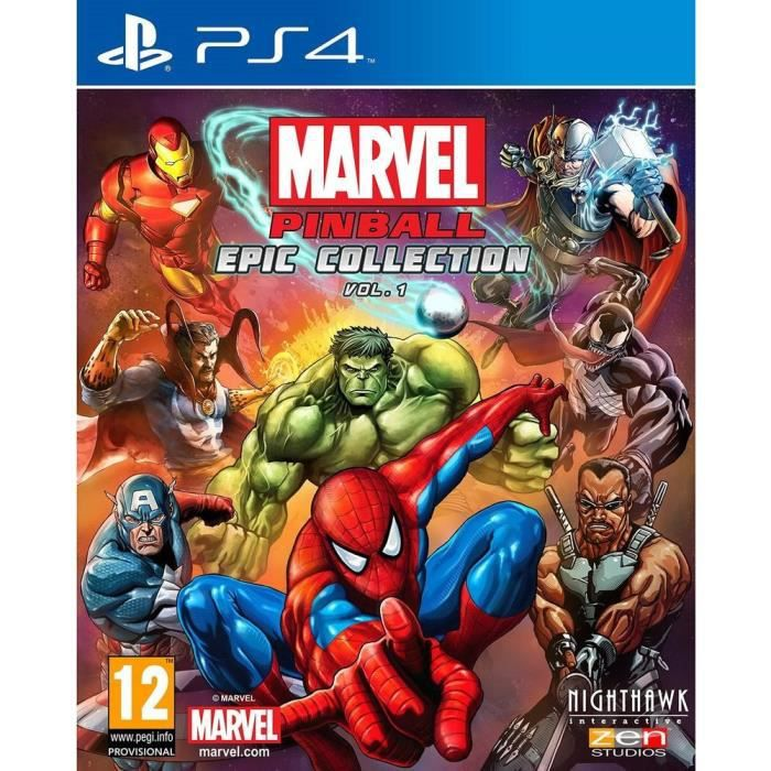 marvel pinball epic collection volume 1 jeu ps4 achat vente jeu ps4 marvel pinball ec vol 1. Black Bedroom Furniture Sets. Home Design Ideas