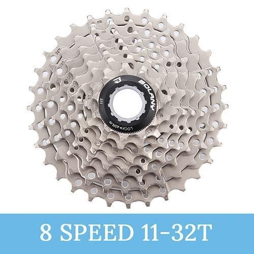 Pièce Détachée,Cassette de vélo 8 S 9 S 10 S 11 vitesses 11 25 11 28 11 32 11 36 T vélo route vtt roue libre - Type 8Speed 11-32T