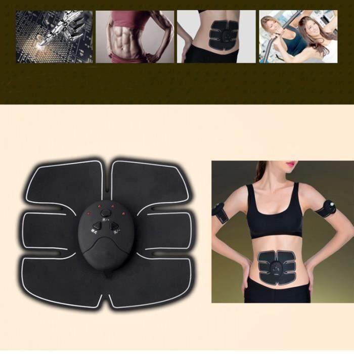 BK Smart EMS Impulsion Électrique Traitement Corps Masseur Sans Fil Abdominale Formateur Musculaire Muscle Stimulateur De Massage