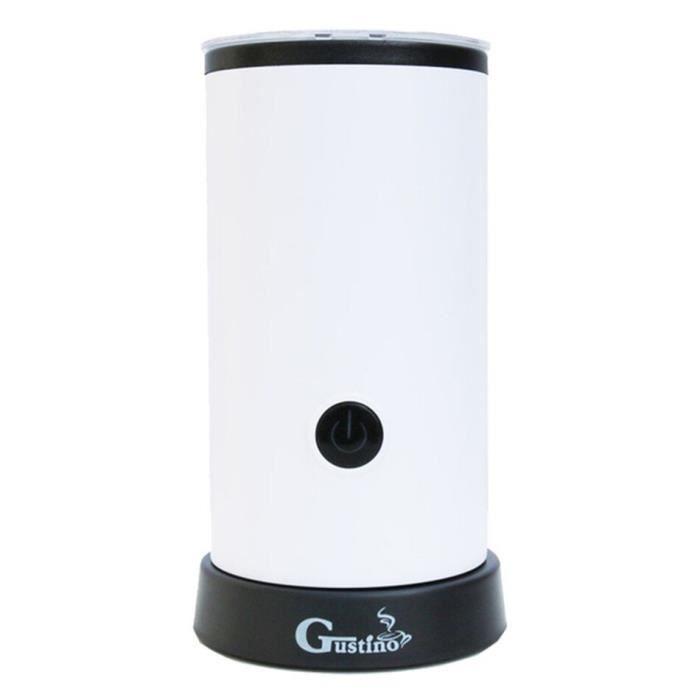 Carafe,SEAAN mousseur à café électrique, automatique, récipient à café, mousse Cappuccino, appareil pour lait - Type White - EU