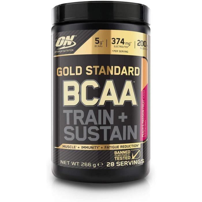 Vitamines, minéraux et compléments Optimum Nutrition Gold Standard BCAA Poudre, Complément Alimentaire BCAA en Poudre av 771468