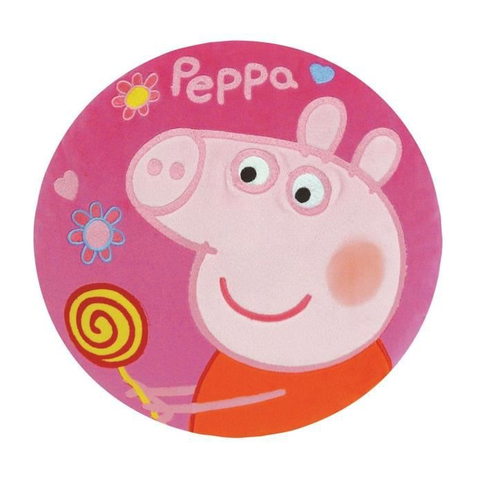 Fun HousePeppa Pig coussin brode pour enfant