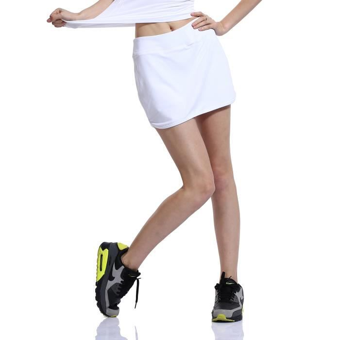 HonourSport-Jupe-Short de Tennis Court Sexy Jupe Femme