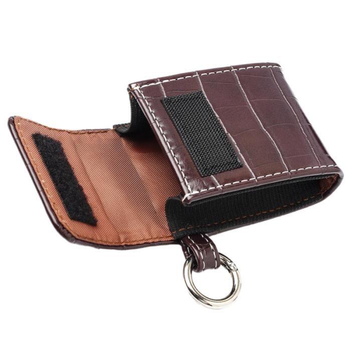1 Pc oxymètre sac roman mode créatif support en cuir durable de rangement CARDIOFREQUENCEMETRE - ACCESSOIRE - PIECE DETACHEE