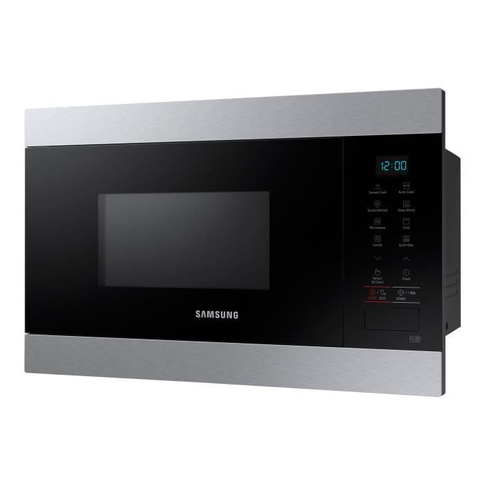 Samsung MG22M8074AT Four micro-ondes grill intégrable 22 litres 850 Watt inox