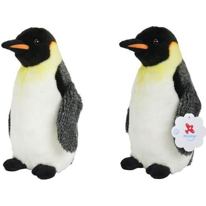SIMBA TOY Peluche Pingouin Empereur 30 cm