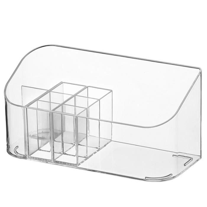 Maquillage Organisateur Plateau Cosmétic Display Boîte de maquillage pour tiroirs de salle de bain