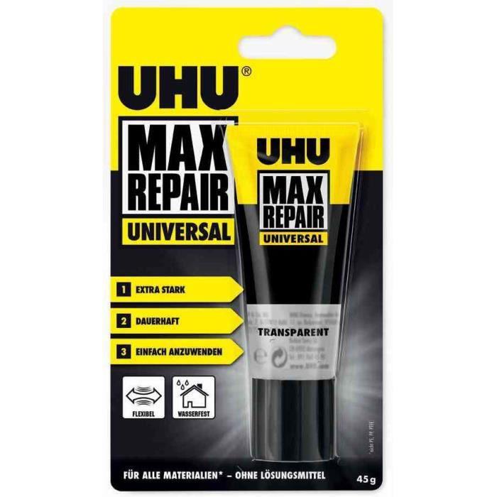 Blister de 1 tube de colle universelle MAX REPAIR Universal