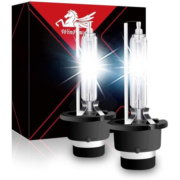 D2S D2R Ampoule Xénon Feu HID Lampe 35W Voiture Winpower Phare Avant 6000K 2pcs remplacement pour Philips 85122 Osram 66040/85126