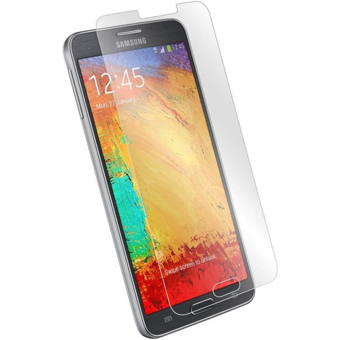 Film en verre tremp pour samsung galaxy note 3 lite protection transparent - Prix du verre trempe ...