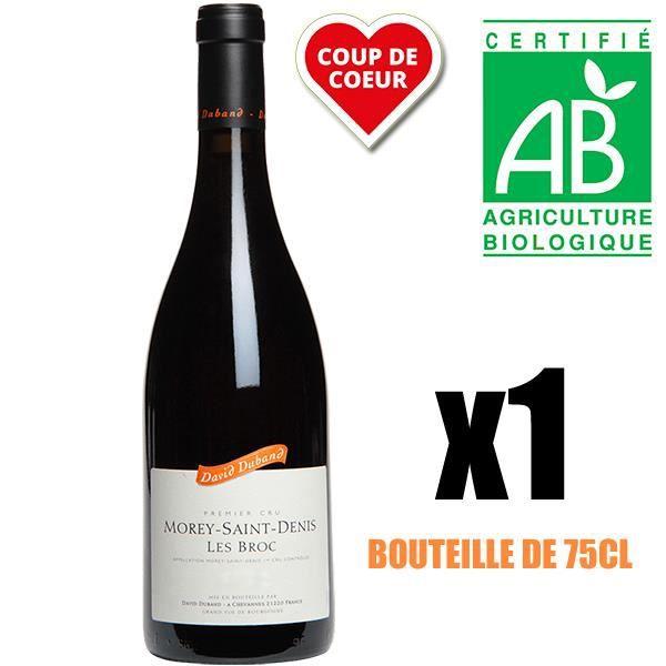 VIN ROUGE X1 David Duband 2014 AOC Nuits-Saint-Georges Vin R