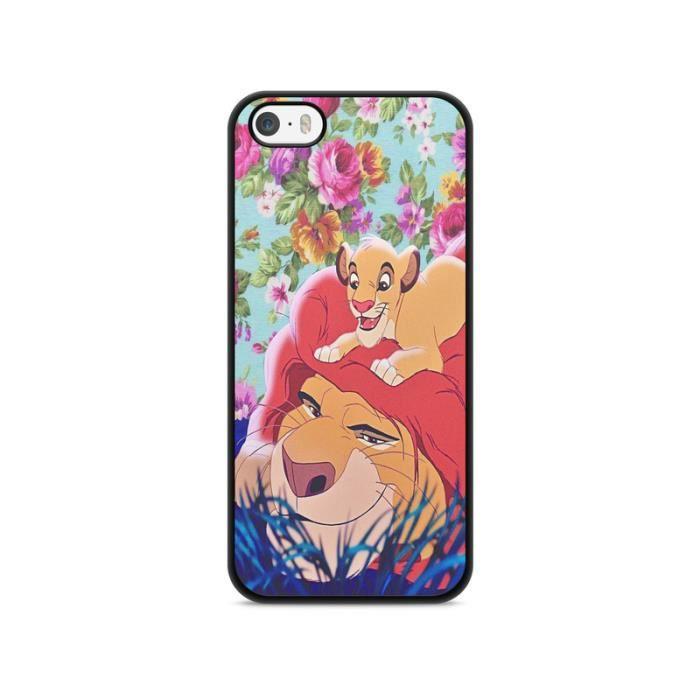 coque iphone 7 roi lion simba pumba lion king disn