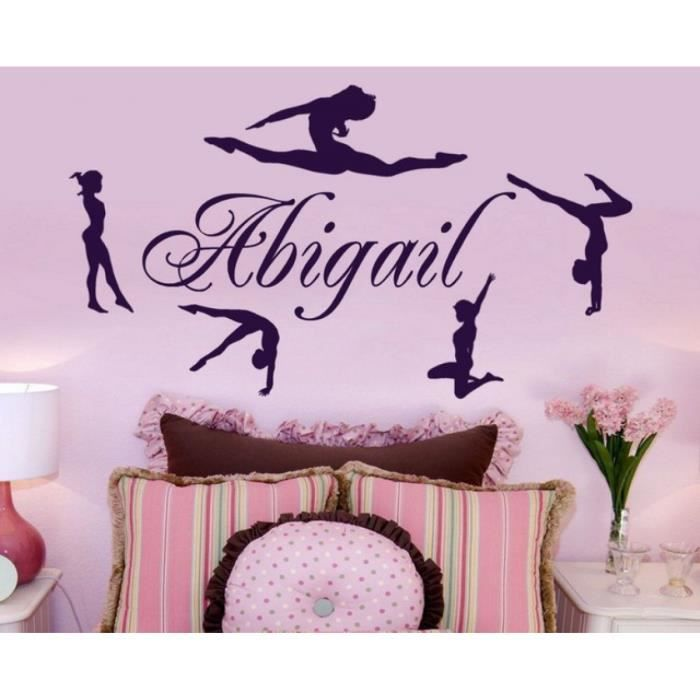 stickers muraux gymnaste achat vente stickers muraux gymnaste pas cher cdiscount. Black Bedroom Furniture Sets. Home Design Ideas