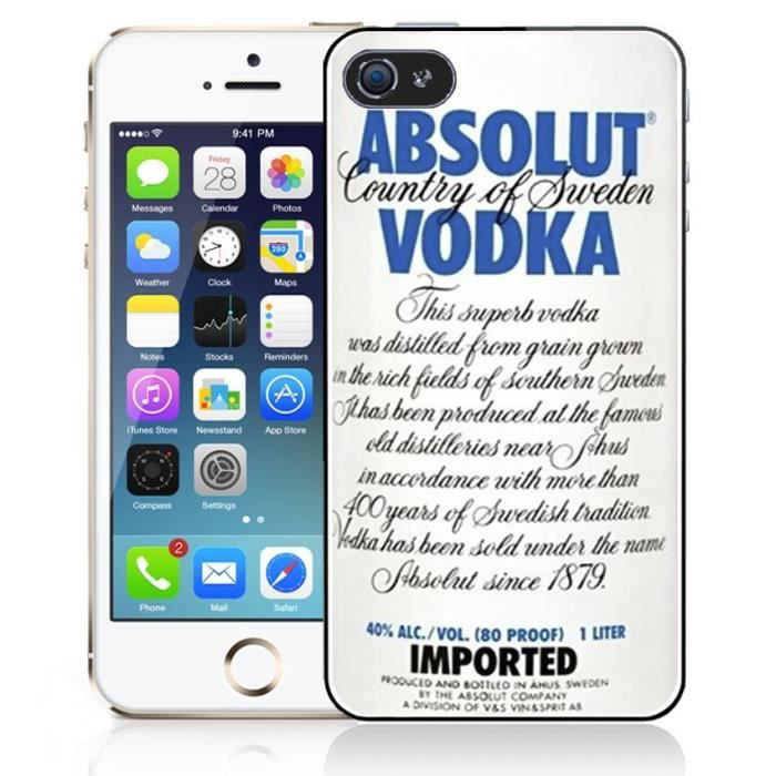 coque iphone 8 vodka
