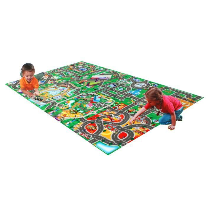 2 tapis de jeu pour enfants achat vente tapis de jeu cdiscount. Black Bedroom Furniture Sets. Home Design Ideas