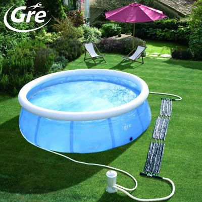 Installation climatisation gainable systeme de chauffage for Chauffer piscine intex