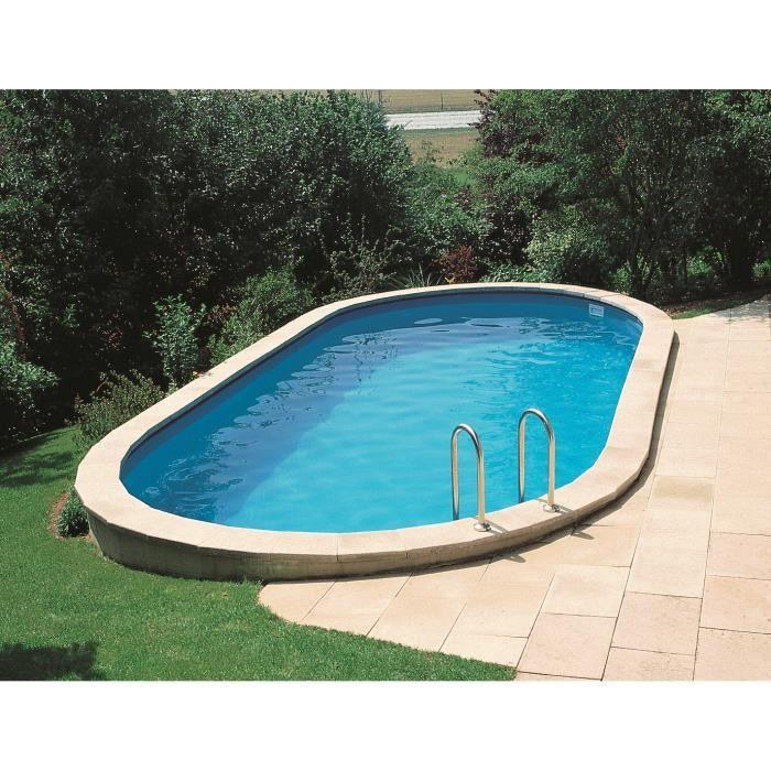 PISCINE GRE Star Pool Kit piscine enterrée ovale 5x3x1,20