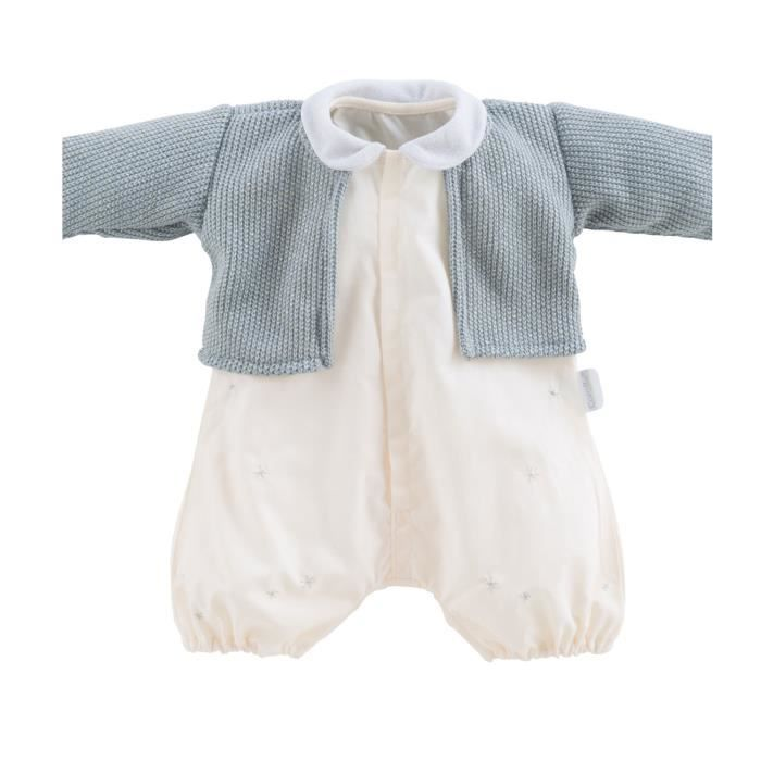 ACCESSOIRE POUPÉE Vêtement pour poupon 52 cm Bébé Chéri : Barboteuse