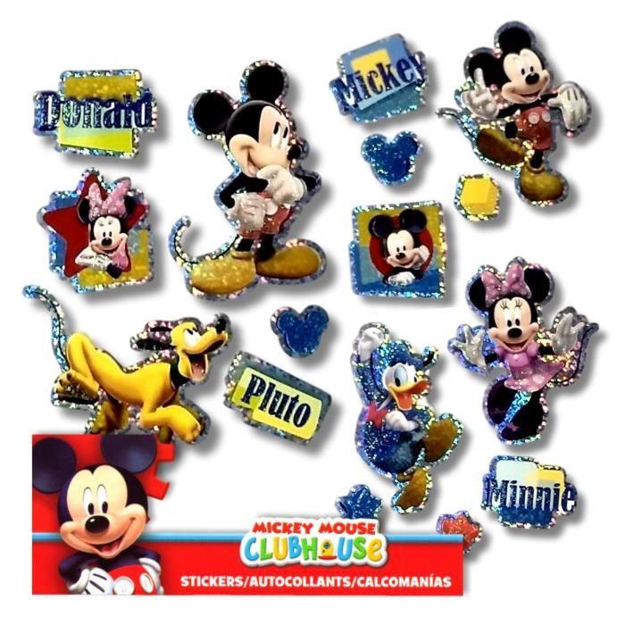 Jeu De Coloriage Disney Autocollants Mickey Mouse Et Minnie Mouse Dqayh Achat Vente Jeu De Coloriage Dessin Pochoir Cdiscount