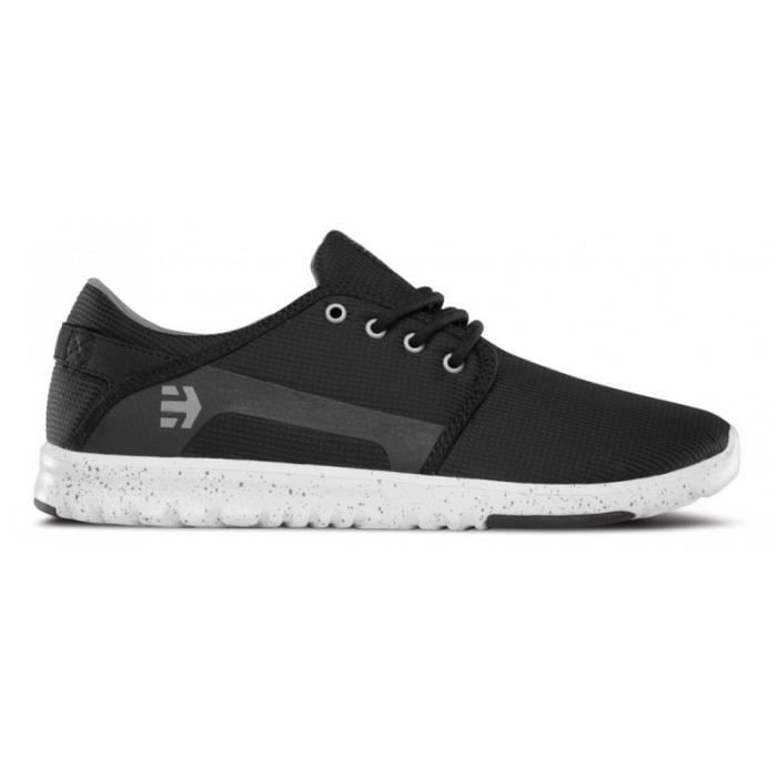 CHAUSSURES ETNIES SCOUT BLACK GREY GREY skateshoes O4Xu3d