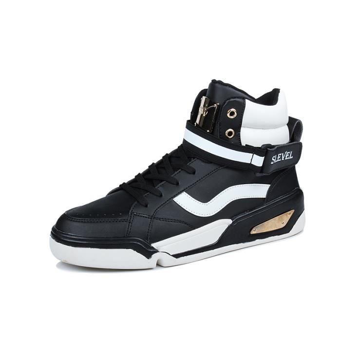 Baskets mode Baskets homme Baskets montantes Baskets étanches Baskets vernies Baskets automne Chaussures de ville chaussure de cuir so1Vp2j2