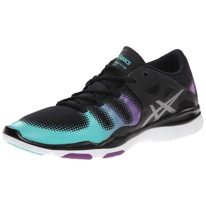 Asics Chaussure de fitness pour femme ZO14I Noir - Cdiscount