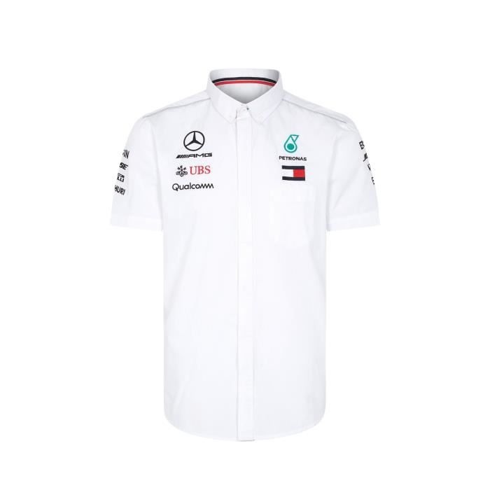 CHEMISE - CHEMISETTE Chemise Mercedes-AMG Petronas Motorsport Team F1 D