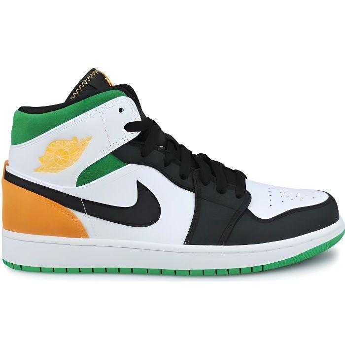 Basket Air Jordan 1 Mid Se Blanc 852542-101
