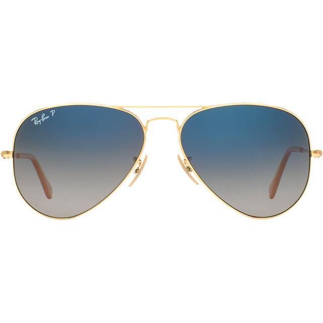 Lunettes de Soleil RAY-BAN Aviator RB3025 001-78 GOLD T 58 - Achat ... babf0dc7c7eb