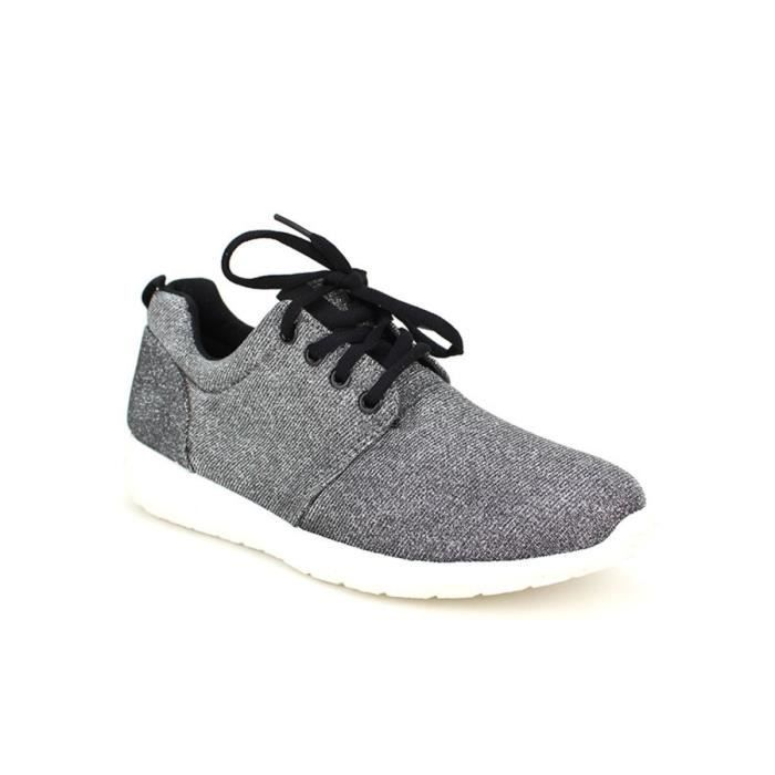 basket, Baskets Gris Chaussures Femme, Cendriyon