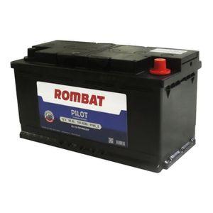 BATTERIE VÉHICULE ROMBAT Pilot P595D Batterie 12 V 95 Ah 750 A Noir