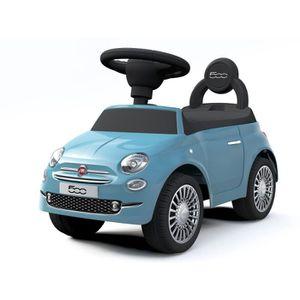 PORTEUR - POUSSEUR FIAT 500 Porteur Bleu Ciel Sonore 12-36 Mois