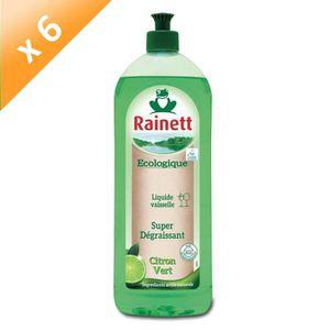 LIQUIDE VAISSELLE RAINETT Liquides Vaisselle - Citron vert - 750 ml