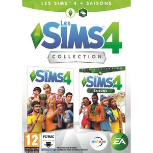 JEU PC Les Sims 4 : Sims 4 + Saisons Jeu PC