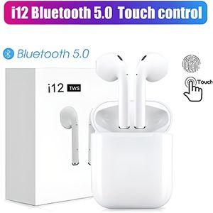 OREILLETTE BLUETOOTH i12 tws sans fil Bluetooth 5.0 écouteurs contrôle