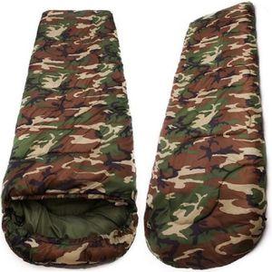 SAC DE COUCHAGE Sac de couchage  camouflage, 210x75cm, long, robus