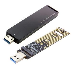 CLÉ USB Clé USB 3.0 à Nvme M-Key M.2 NGFF SSD carte d'adap