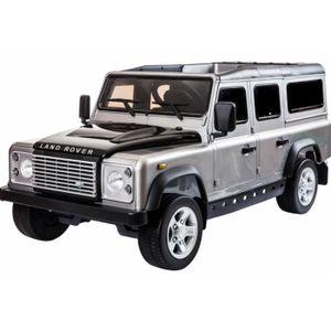 VOITURE ELECTRIQUE ENFANT Land Rover Defender 12V Roues gomme - voiture pour