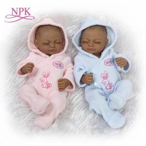 MAISON POUPÉE NPK 12 '' 25cm mode jumeaux bébé poupées reborn à