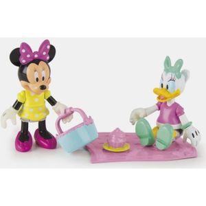 FIGURINE - PERSONNAGE IMC Toys -MINNIE Pack de 2 Figurines Minnie & Dais