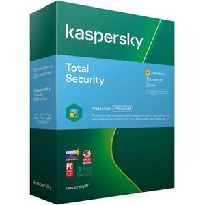ANTIVIRUS KASPERSKY Total Security 2020, 5 postes, 2 ans