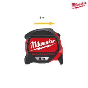 MÈTRE - RUBAN Mètre ruban MILWAUKEE magnétique premium 8m 482273